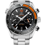 OMEGA SEAMASTER PLANET OCEAN 600M CHRONOGRAPH 45.5MM BLACK DIAL STEEL