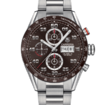 TAG HEUER CARRERA CHRONOGRAPH DAY-DATE BROWN 43MM